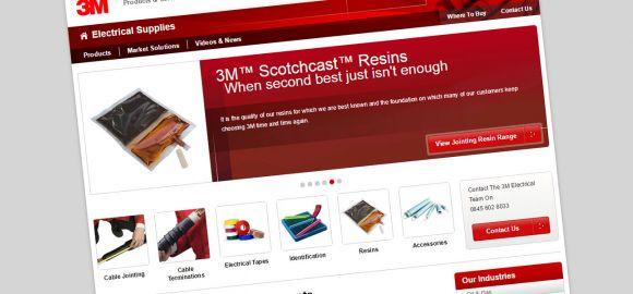 Design Revamp For 3M Electrical Supplies