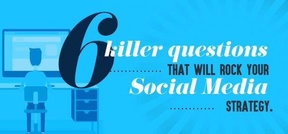 6 killer questions that will rock your social strategy [Infographic]