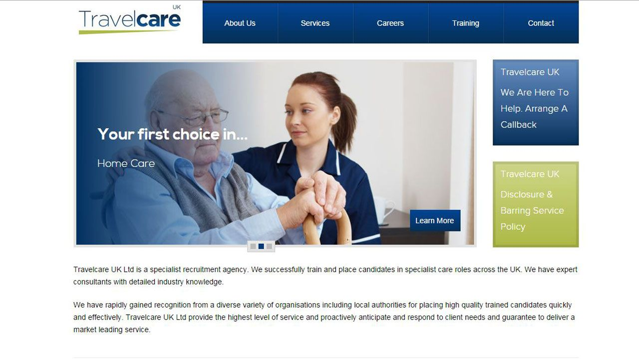 Travelcare UK : TravelcareUK brand + website