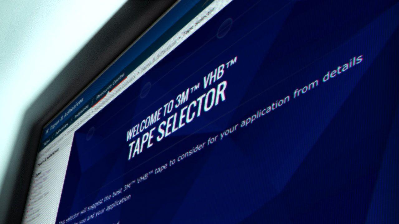 3M UK PLC : VHB Selector
